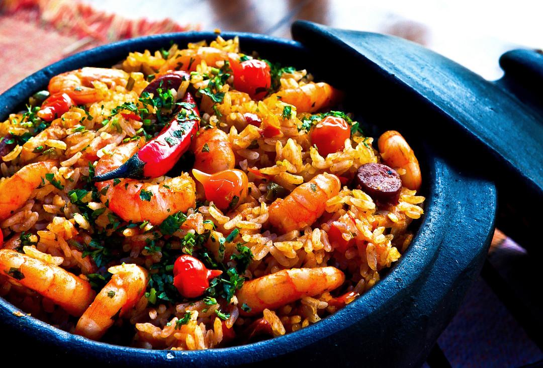 paella-rice-seafood-Spain-
