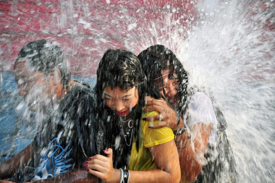 songkran wet