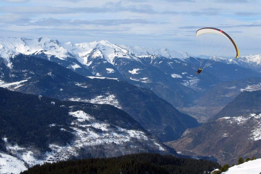 Paraglider-French-Alps